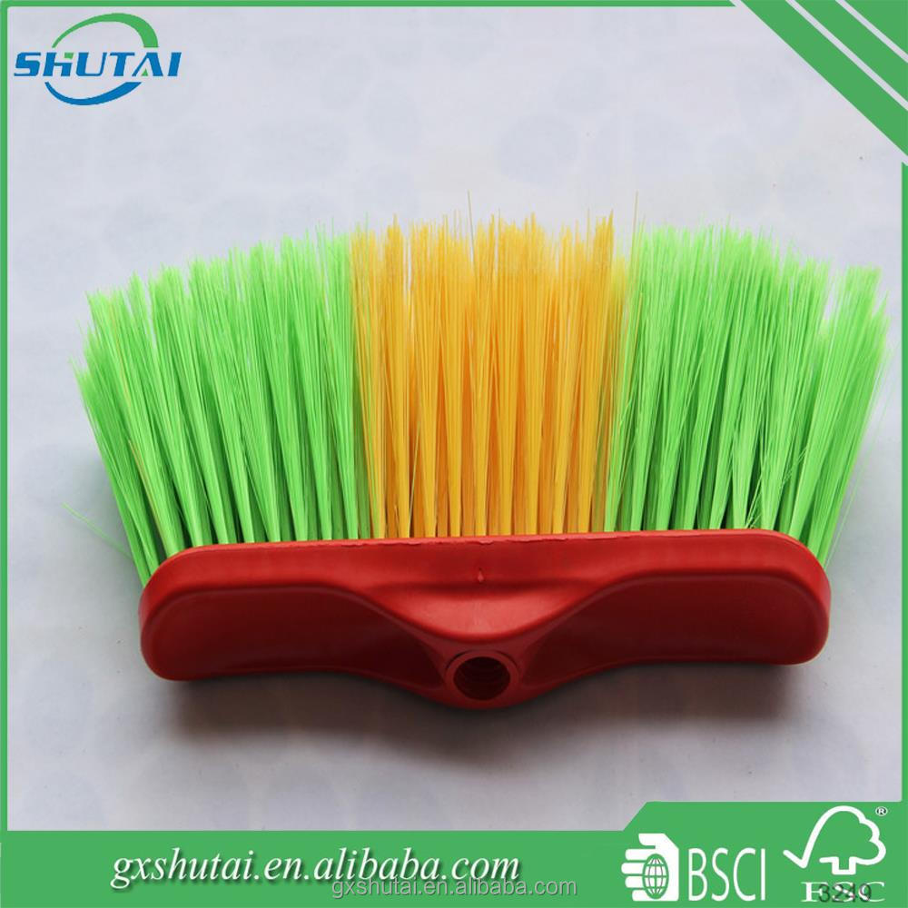 Beautiful design and cheap plastic broom Cleaning floor soft broom Best quality hand tools sets