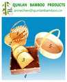 2015 high quality bamboo basket set