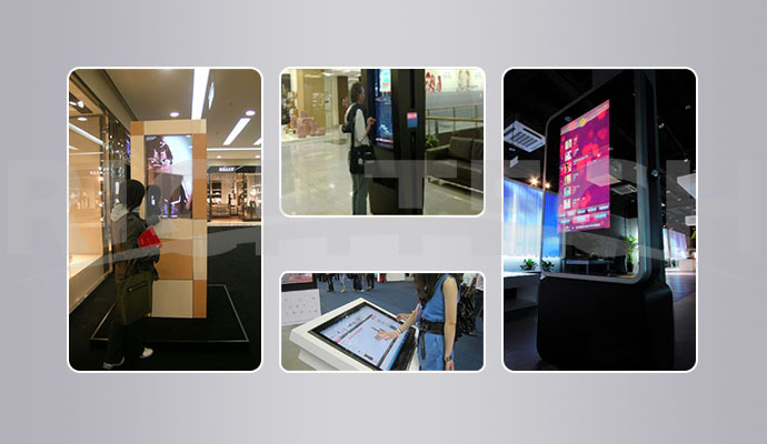 Richtech multi functional infrared touch screen panel