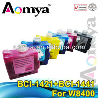 BCI-1421 compatible canon w8400 original ink