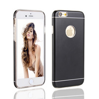 Cell phone case sublimable matte housing aluminum cover for iphone