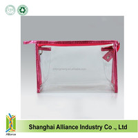 Transparent Plastic PVC Travel Cosmetic Make Up Toiletry Zipper Bag