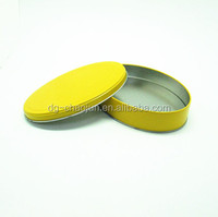 Exquisite food packing box bright- colored oval presentation gift boxes