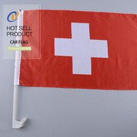 Top quality professional national country polyester national safety flag