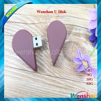 Heart Chocolate shape USB Valentine's day gifts Food USB pen drive 8GB