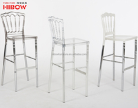 china beautiful aluminium leg resin napoleon barstool chair