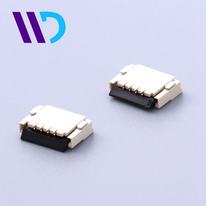 WENDA 1.0mm pitch zif fpc connector for Typewriters