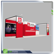 Modular exhibition display booth equipment in aluminum