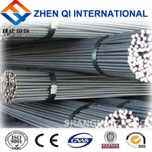 china shanghai supplier HRB400 22mm steel rebar/ deformed steel bar for construction