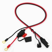 SAE to SAE 2 Wire Quick Connect Disconnect Plug Power Lead 100cm