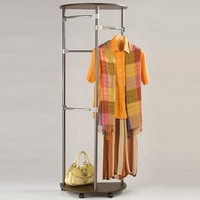 modern removable steel hotel clothes rack