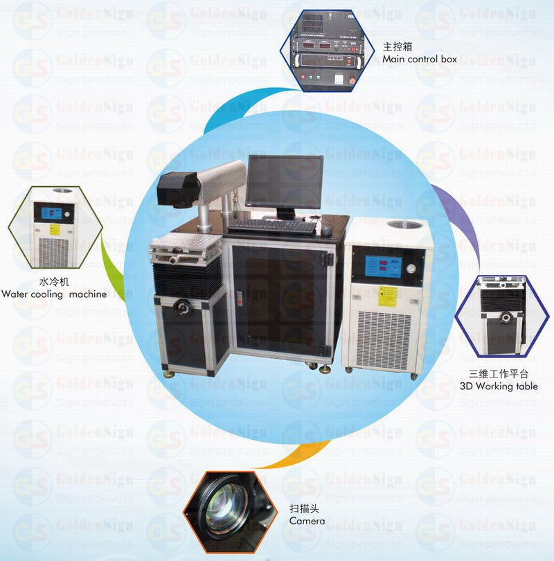 china yag diode pumped laser Marking Machine