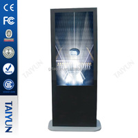 Apple Design 55 Inch Floor Standing Indoor/outdoor Lcd Advertising Player