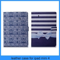 New Present Leather Flip Cover Case Stand Shell Housing sleep wake leather case For iPad mini 4 3 2 4 Air