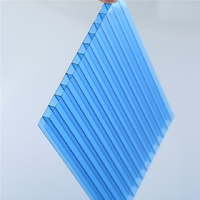 XINHAI 6mm polycarbonate hollow sheet for bicycle roofing