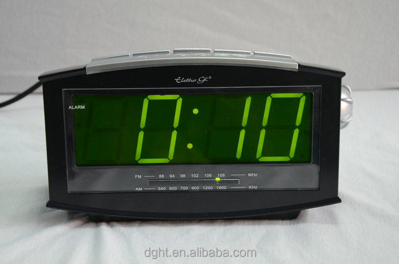 LED radio AM/FM radio CLOCK radio RADIO