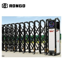 RONGO Commercial automatic retractable entrance gate for industrial