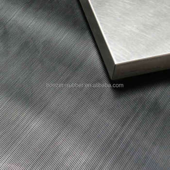 Xuancheng corrugated fine ribbed anti-slip floor rubber sheet
