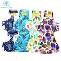 Happy flute waterproof Bamboo Reusable Menstrual Cloth Sanitary napkin Pads for Women