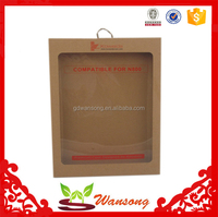 Recyclable feature and accept custom order unique kraft paper packaging box