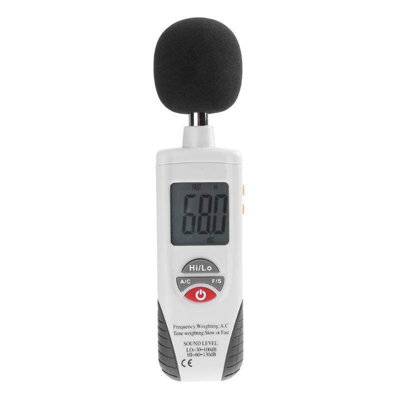 Decibel Monitoring Indicator Testers Diagnostic Tool 30 ~ 130dB  Sound Level Meters