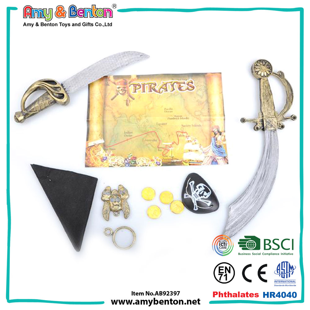 High quality wholesale kids cheap plastic pirate sword