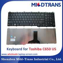 For Toshiba C650 US laptop keyboard with all lauguage