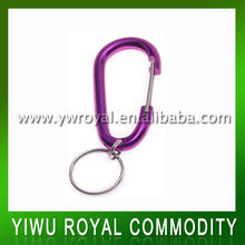 Steel Locking Carabiner With Keychain
