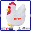 China promotional custom anti stress pu chicken