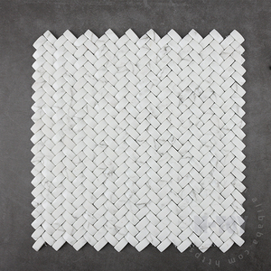 china manufacturer recycled weave baskets backsplash 3d glass tiles
