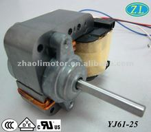 240v low rpm 25w single phase ac electric motor oven induction motor