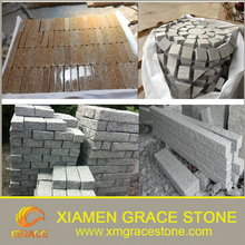 Stone paver,Granite paving stone,cubestone with kinds of colors