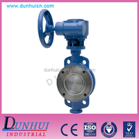 D373H type preferential metal seat butterfly valve to the clamp