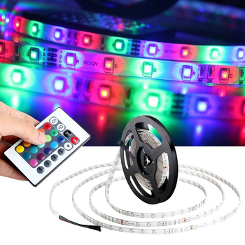 low price 24key rgb led strip set with 4 pin rgb led connector