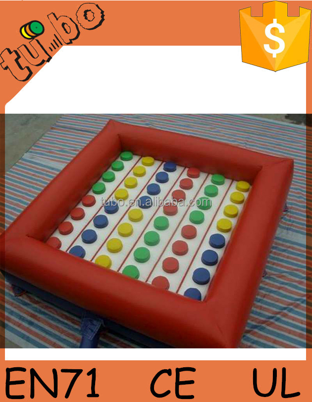 hot sale funny outdoor inflatable twister, inflatable twister game, inflatable twister mattress for kids or adults