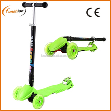 CE/EN-71 125mm 3 Wheel Cheap Kids Scooter with Led Wheel