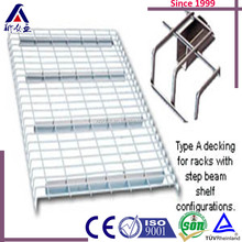 ALibaba Gold Suppliers Stylish Steel Metal Closet Hanging Mesh Wire Shelf for Wardrobe