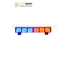 (LED-189-2) 18 led red blue police motorcycle auto led deck strobe light