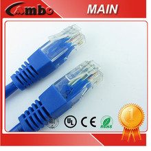 Network Flexible Cable Jumper Cable Cat6 Patch Lead CCTV Camera With RJ45 Cable
