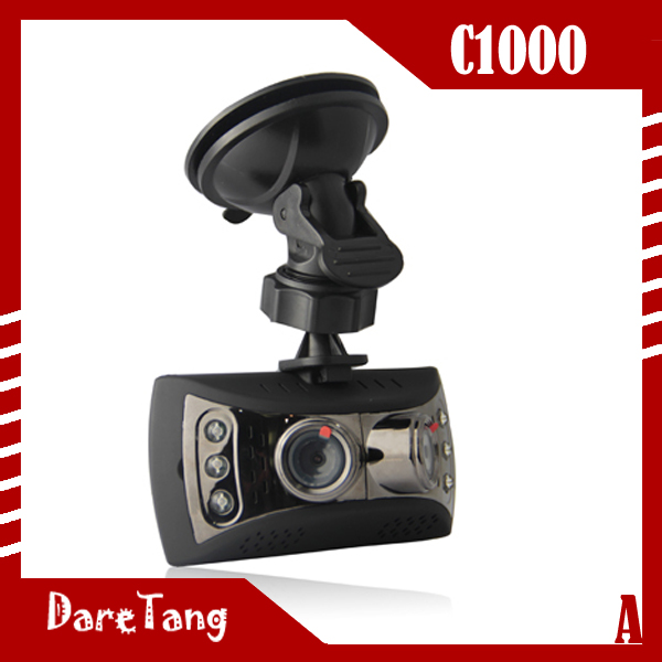 Factory direct 2.7 inch 1080P 120 degree <strong>C1000</strong> <strong>dual</strong> cam car bumper camera