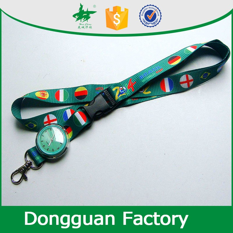 factory custom retractable yoyo reel lanyards with id card holder