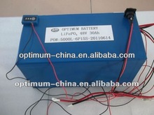 LiFePO4 48V30Ah battery Suitable for Electric Skatingboard, E-bike, E-motorcycle, and E-car