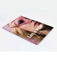 Full Color Coated Paper Softcover Magazine