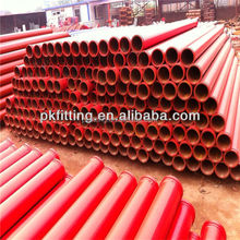 dn100 4inch two layer high quantity 3m schwing concrete pump parts pipes for concrete pumps