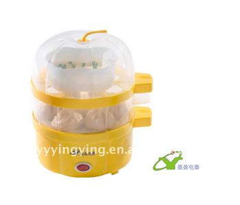 egg cooking machine/plastic (2 layers)