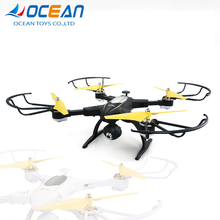 Professional powerful rc folding quadcopter 720P wifi hd drone camera with 360 degree rotation
