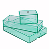 Guangzhou Manufacturer Clear Lucite Serving Tray Lucite Tray With Handle
