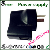 High cost performance 5v 1a dc power supply 5w for MP3 MP4