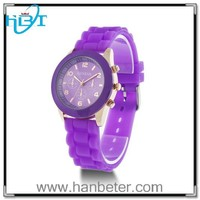 Shenzhen Factory Wholesale Silicone Water Resistant Curren Brand Wrist Watches