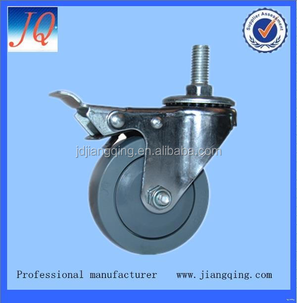 Good quality new arrival 3 inch caster wheel for dining cart